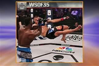 Mogiano do MMA, Andews Nakahara, perde luta em decisão polêmica - Andews enfrentou norte americano Emanuel Walo e perdeu em uma polêmica da arbitragem.