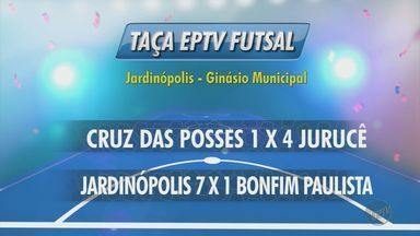 Confira os resultados dos jogos da Taça EPTV de Futsal - Times da região se enfrentam em busca do título de campeão.