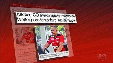 Atlético-GO apresenta atacante Walter nesta terça-feira - Jogador é reforço do Dragão para a disputa da Série A