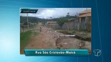 Veja destaques da participação de telespectadores no Jornal Tapajós 1ª edição - Flagrantes foram enviados Whatsapp (93) 99122-5221.