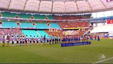 Torcedores começam as provocações para o próximo Ba-Vi - Clássico do futebol baiano acontece no dia 9 de abril.