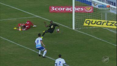 Confira resumo do jogo entre Ponte Preta e Santo André pelo Campeonato Paulista - Santo André saiu na frente com gol aos 7 minutos do primeiro tempo mas partida terminou em empate.