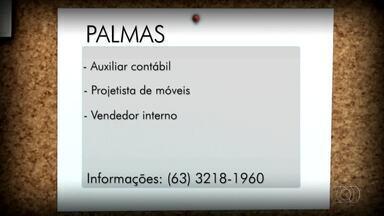 Veja as oportunidades de emprego em Palmas, Porto Nacional e Gurupi - Veja as oportunidades de emprego em Palmas, Porto Nacional e Gurupi