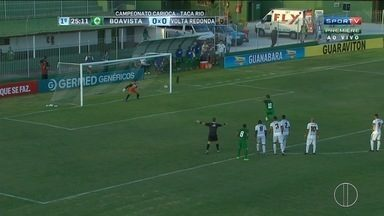 Boavista vence o Volta Redonda pelo Campeonato Carioca - Assista a seguir.