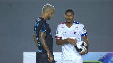 Londrina sai na frente, mas Paraná Clube busca o empate - Expulsão do volante França deixou a partida mais complicada para o Tubarão. Paraná empatou e segurou a liderança