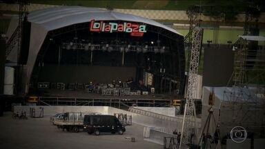 SPTV mostra o clima dos bastidores do festival Lollapalooza - Neste fim de semana, o autódromo de Interlagos recebe o Lollapalooza 2017. A gente mostra o clima dos bastidores do festival.