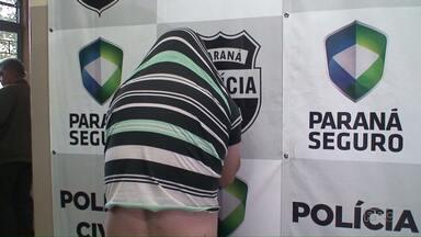 Homem que fingia ser policial é preso em Ponta Grossa - Ele tem 36 anos e foi preso na casa dele em Olarias.