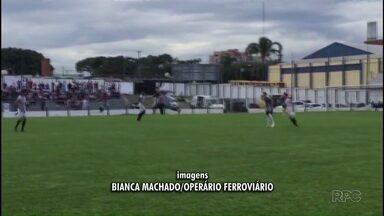 Operário vence Andraus por 3 a 0 - Fantasma garantiu a segunda vitória no Campeonato Paranaense
