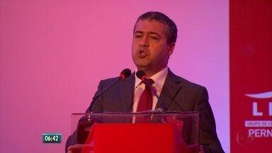 Ministro do Trabalho discute mudanças nas leis trabalhistas em encontro no Recife - Encontro foi promovido por grupo de líderes empresariais existente há seis anos em Pernambuco.