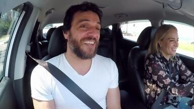 Angélica dá carona para Rodrigo Lombardi - ator mostra seu lado dublador e fala sobre seu trabalho em 'A Força do Querer'