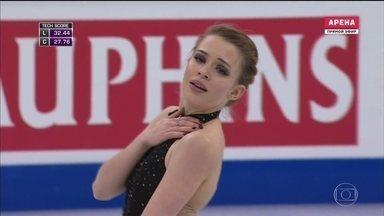 Isadora Williams ganha aplausos no Mundial de patinação no gelo, mas não chega às finais - A brasileira buscava uma vaga nas Olimpíadas de Inverno de 2018.