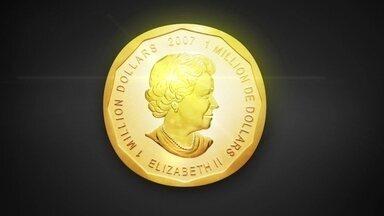 Moeda de ouro de cem quilos some de museu alemão sem deixar pistas - Avaliada em US$ 4 milhões, objeto foi levado do local durante a madrugada sem que nenhum equipamento de segurança registrasse assalto.