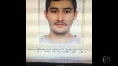 Polícia russa continua em busca dos suspeitos na participação de atentado no metrô - O homem-bomba tinha 22 anos. É um russo nascido no Quirguistão, uma república de maioria muçulmana da Ásia Central.