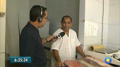 Bom Dia dá dicas para quem quer antecipar a compra de peixe para a Semana Santa - Veja como observar a qualidade do pescado e como mantê-lo de forma adequada em casa.