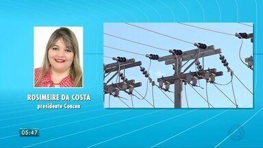 Tarifa de energia fica mais baixa em abril e maio e sobe em junho - Presidente do Conselho de Consumidores da Área de Concessão da Energisa, em Mato Grosso do Sul, fala sobre o assunto.