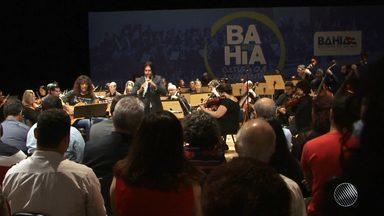 Orquestra Sinfônica da Bahia tem novo modelo de gestão que deve ampliar recursos - O contrato de publicização foi assinado na última terça (4) no Teatro Castro Alves.