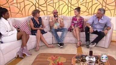 Convidados falam sobre a importância da união na luta contra o assédio - Funcionárias da Rede Globo iniciaram a campanha 'Mexeu com uma, mexeu com todas' contra o assédio