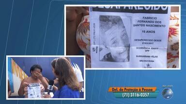 Confira o quadro de Desaparecidos desta quarta-feira (5) - Quem tiver informações sobre alguma pessoa procurada pode ligar para o telefone (71) 3116-0357.