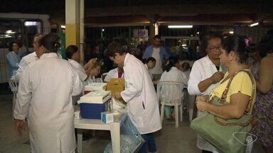 Terminais da Serra, na Grande Vitória, recebem vacinação contra febre amarela - Objetivo é imunizar quem ainda não se vacinou.