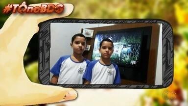 Telespectadores enviam fotos para o quadro 'Tô no BDG' - Imagens foram enviadas pelo aplicativo Quero Ver na TV (QVT), WhatsApp e email.