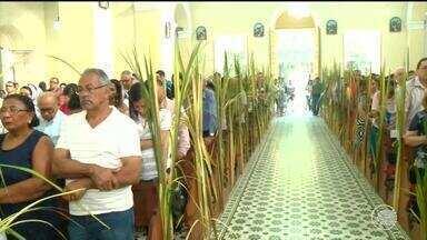 Procissão de Ramos inicia comemoração da Semana Santa - Procissão de Ramos inicia comemoração da Semana Santa