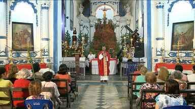 Católicos começam a celebrar Semana Santa no MA - Em São Luís, o domingo (9) foi um dia foi marcado pela devoção e atos de fé.
