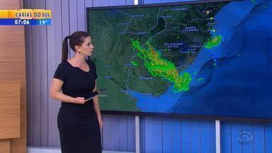 Tempo: RS pode a receber chuva nesta segunda-feira (10) - Instabilidade avança no estado.