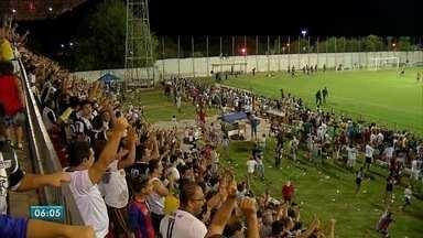 Esporte: veja como foi mais uma rodada das quartas de final do Sul-Mato-Grossense - Novo chegou à semifinal após eliminar o Águia Negra. Sete de Dourados elimina Comercial. Teve também jogo em Corumbá.