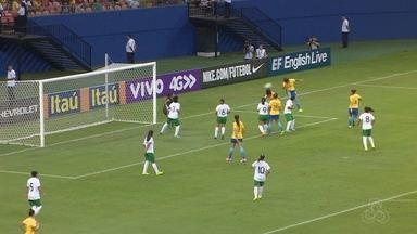 Seleção brasileira goleia Bolívia em primeiro teste do ano com Marta e Cristiane - Equipe comandada por Emily dominou as rivais, neste domingo, na Arena da Amazônia, em Manaus.