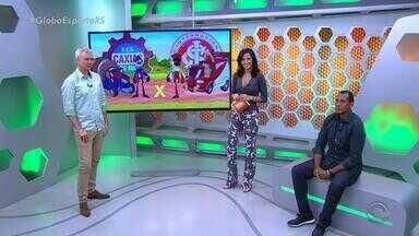 Globo Esporte RS - Bloco 3 - 10/04/2017 - Assista ao vídeo.