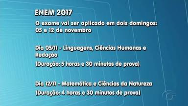 Inscrições para o Enem 2017 começam em maio - Exame vai ser aplicado nos dias 5 e 12 de novembro.