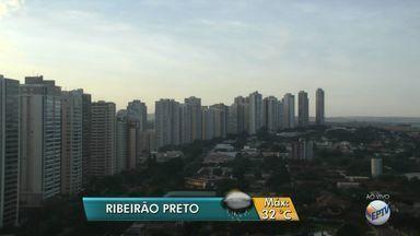 Veja a previsão do tempo para esta terça-feira (11) em Ribeirão Preto, SP - Meteorologistas preveem a temperatura máxima de 32ºC.