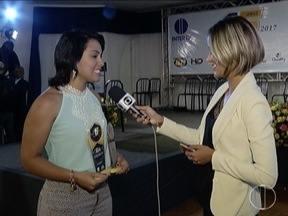 Amantes dos esportes se reúnem em Montes Claros para entrega do Troféu Bola Cheia - Larissa Carolayne foi eleita através de votação no site GloboEsporte.com.