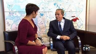 Prefeito Iris Rezende avalia os 100 primeiros dias de mandato em Goiânia - Político fala sobre o que já fez até o momento na administração e quais os planos para os próximos meses de governo.