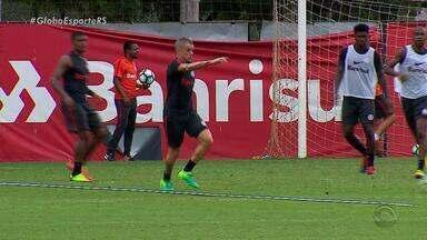 Inter enfrenta o Corinthians nesta quarta-feira pela Copa do Brasil - D'Alessandro treina e deve estar em campo amanhã.