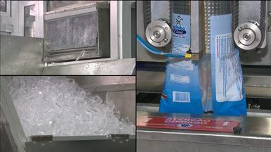 GEVISA fecha o cerco ao gelo clandestino em Campina Grande - O órgão está fiscalizando empresas que vendem e fabricam o produto na cidade.
