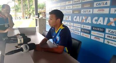 No treino desta terça, Robinho comemora sequência como titular no Londrina - No treino desta terça, Robinho comemora sequência como titular no Londrina
