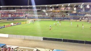 Chico marca primeiro gol pelo CRB e torcida comemora - CRB e ASA se enfrentam pela quarta rodada do hexagonal