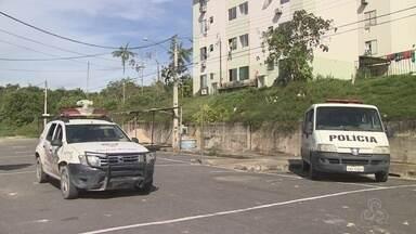 PM faz operação de segurança no residencial Viver Melhor - Operação ocorre após série de homicídios no local.