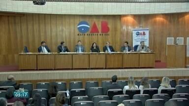 Audiência em Campo Grande debate reforma trabalhista - Debate foi realizado na Ordem dos Advogados do Brasil (OAB). Entidade promoveu discussões sobre o assunto em todo o país.
