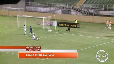 Braga é derrotado pelo Oeste na A2 - Derrota deixou o time mais longe pela briga pelo G4.