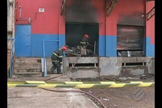 Laudo pericial em lojas alvo de incêndio em Marabá deve sair em até 20 dias - Documento pode apontar as causas de um incêndio que atingiu duas lojas.