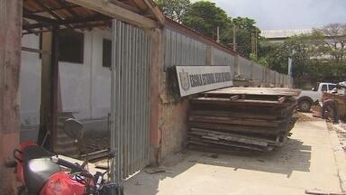 Atraso em reforma de prédio compromete retorno de aulas em escola no Amapá - Ano letivo não iniciou na Escola Estadual Jesus de Nazaré, em Macapá.
