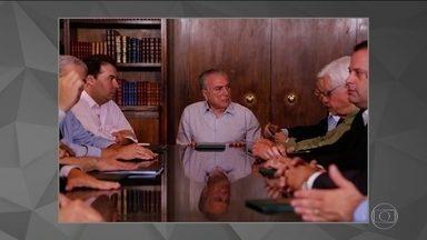 Temer reúne ministros e líderes do Congresso para discutir Previdência - Participaram da reunião Henrique Meirelles (Fazenda), Antônio Imbassahy (Secretaria de Governo) e Moreira Franco (Secretaria-Geral da Presidência).