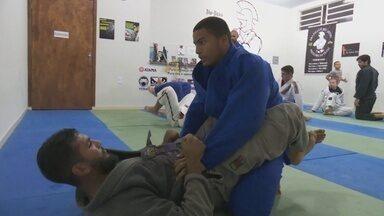 Judoca de Ariquemes conquista segundo lugar no Panamericano em São Paulo - Lucas Martins faz parte da equipe da Seleção Brasileira de Judô.
