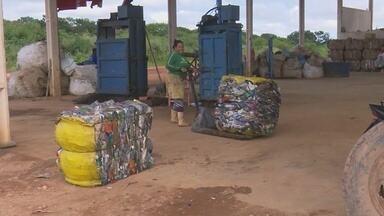 Cooperativa de catadores de lixo pode paralisar atividades em Ji-Paraná - Instituição depende de uma parceria com o poder público para continuar funcionando.