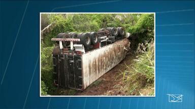Continuam internados os três feridos em acidente na BR-316 em Codó - Trecho em que aconteceu esse acidente é um dos mais perigosos da rodovia, onde as colisões são constantes.