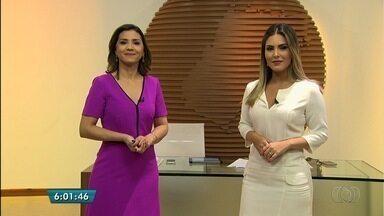 Veja os destaques do Bom Dia Goiás desta quinta-feira (20) - Sinal analógico será desligado em cidades de Goiás. Quem não tiver uma tv com sinal digital ou com um conversor, ficará sem assistir os programas.