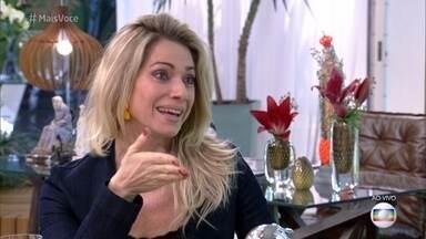 Letícia Spiller interpreta Monique na supersérie 'Os Dias Eram Assim' - Atriz comenta cena em que dá à luz Esperança e diz que nos partos de seus dois filhos não sentiu dor