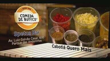 Comida di Buteco movimenta bares em Ribeirão Preto, SP - Conheça os petiscos da Academia do Chopp, do bar Chocolate com Pimenta e do Bar das Meninas.